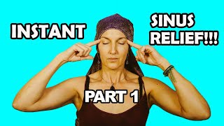 Sinus Points For Drainage And Pressure Relief