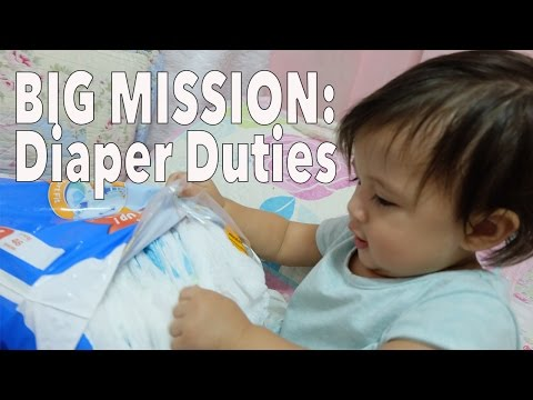 Big Mission: Diaper Change Test