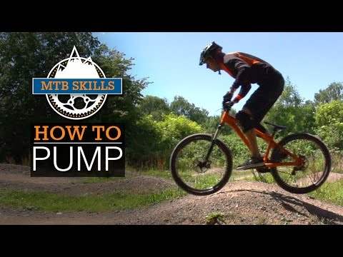 How To Pump - MTB Skills