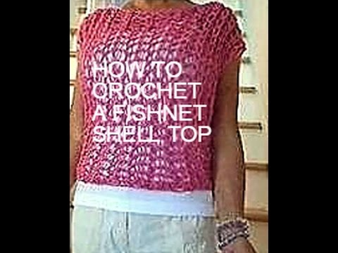 How To Knit A Summer Sweater Top Or Cover Up For Begginers