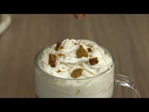 Speculoos Cookie Latte Recipe