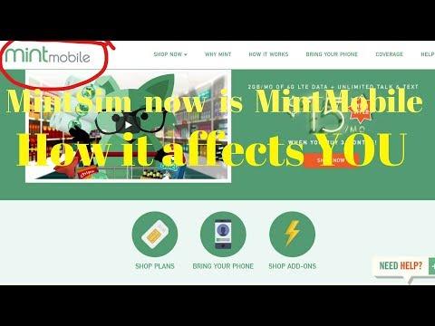 Mintsim Mint Sim is now Mint Mobile Mintmobile.com What it means to you (mintsim.com)