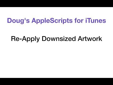 Re-Apply Downsized Artwork - Demo