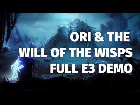 Ori & The Will of the Wisps Full E3 Demo | 4K Direct Capture, No Commentary