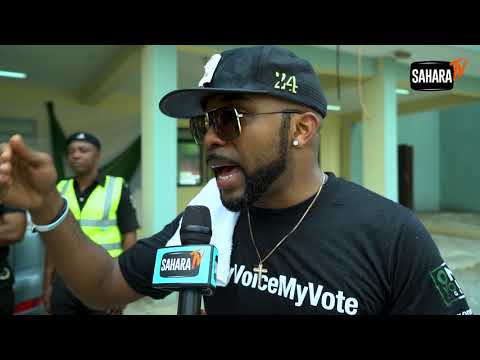 Celebrities Sensitize On Voters Registration