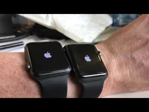 Apple Watch vs Apple Watch Series 2 startup speed comparison