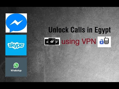Allow Messenger, Whatsapp & Skype Calls via VPN