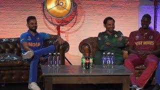 Kohli and Sarfaraz agree on the impact of India-Pakistan hype