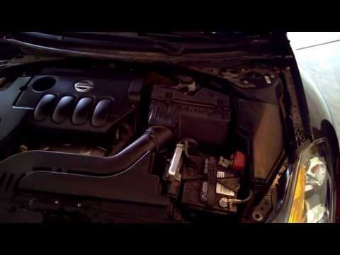 2007-2012 Nissan Altima Air Filter Replacement