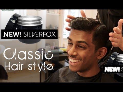 Indian / Asia Wall Street Look | Men's Hair Tutorial By Vilain SIlver Fox