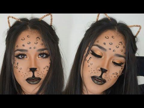 Simple Leopard Makeup Tutorial | Halloween 2016