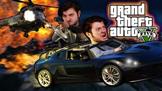 GTA 5 - SAVING PRIVATE EVAN! (GTA 5 PC Online Funny Moments)