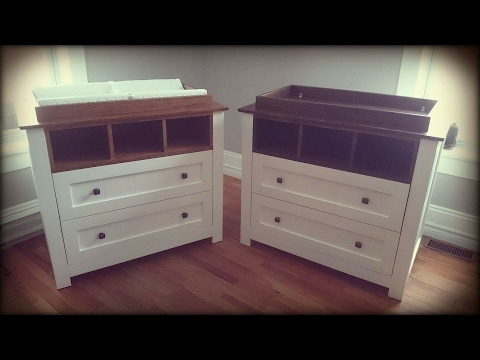 Build a changing table part 1