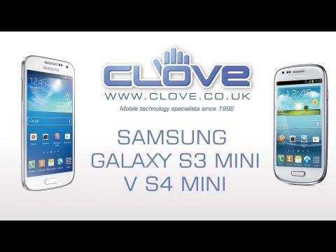 Samsung Galaxy S3 Mini v Galaxy S4 Mini (Comparison)