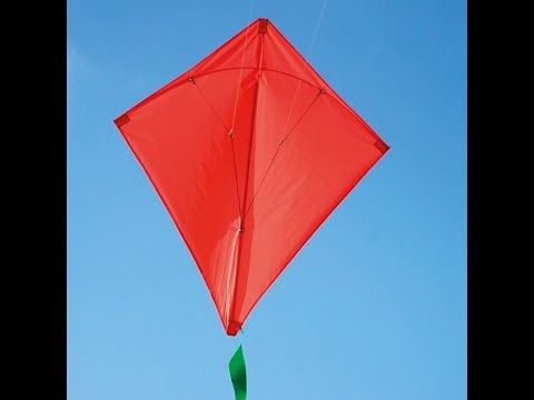 How to Make Kite at Home   How to make a Kite with household items - Quick and Easy - Youtube