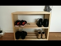 Woodworking: Simple Shoe Rack