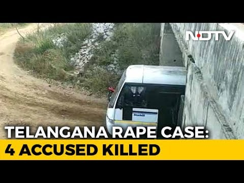 Xxx Mp4 Hyderabad Rape Case All 4 Accused In Rape Murder Of Telangana Vet Killed In Encounter Police 3gp Sex