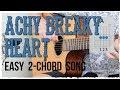 """Achy Breaky Heart"" Guitar Tutorial - Billy Ray Cyrus | Easy 2 Chord Song!"