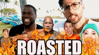 KEVIN HART ROAST YOUTUBERS & THE ROCK