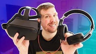 Best VR Headphones for Oculus Quest, Rift S, and Pimax 5K+! Skullcandy Crusher Wireless!