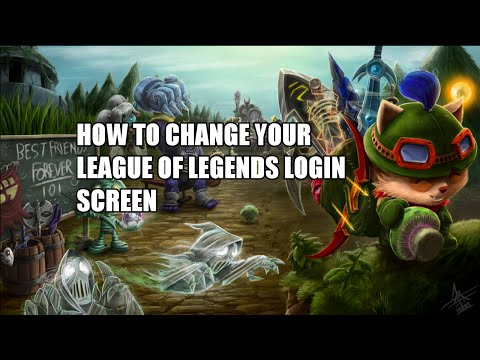 How To Change League of Legends Login Screen and Music!