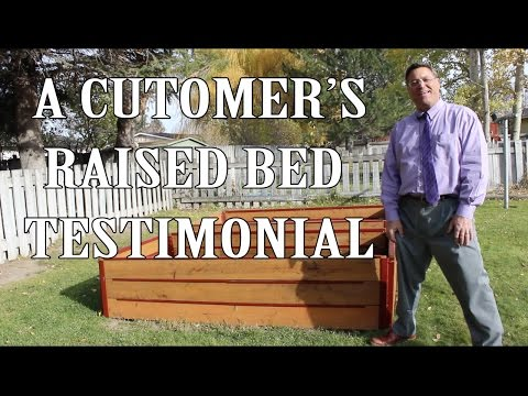 A Customer's Raised Bed Testimonial