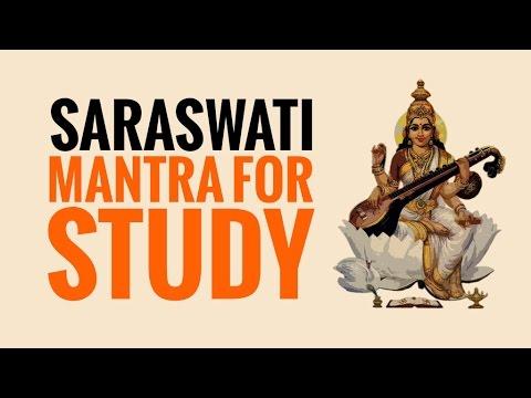SARASWATI MANTRA✔Mantra for Study, Creativity, Wisdom and Knowledge✔Education & Success
