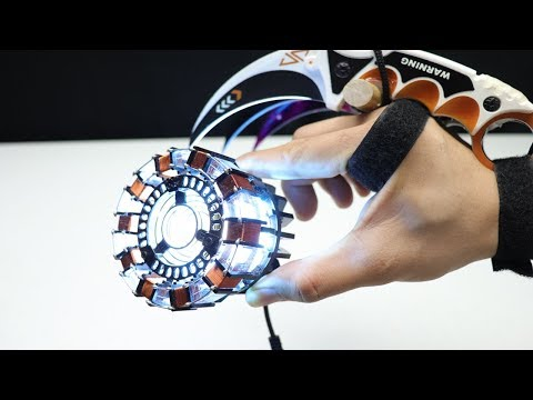 Iron Man Arc reactor 1:1 scale Unboxing and review - Assembly