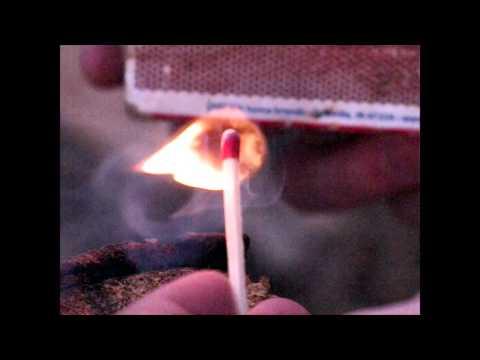 Match Burning in Slow Motion | Shredded Bacon