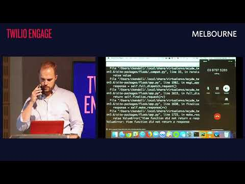TWILIO ENGAGE MELBOURNE | What Can You Do With Twilio