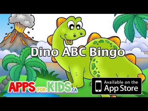 Dino ABC Bingo