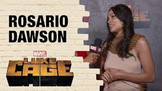 Rosario Dawson Talks About Claire Temple