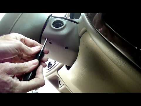 Taurus Sable Multifunction Switch & Lock Cylinder Removal