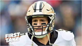 First Take debates how the Saints should address Drew Brees' latest comments