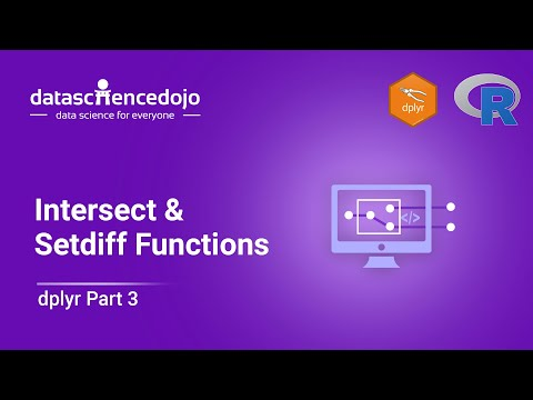 Introduction to dplyr: Intersect & Setdiff Functions