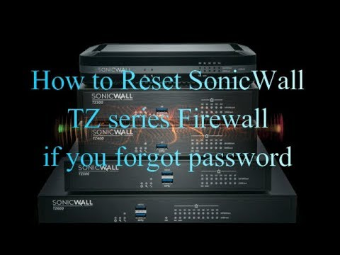How to Reset firewall password today full tutorials in hindi   Sushil Tech