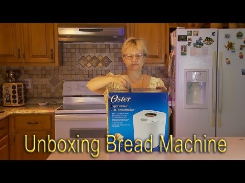Unboxing OSTER Bread Machine