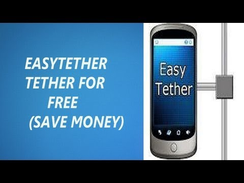 Easytether Usb Tethering [HOTSPOT] With Android OS NO ROOT!!! (Setup+Final Review)
