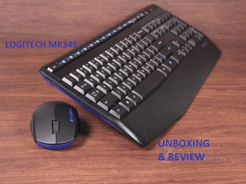 Logitech Wireless Combo Mk345 : Unboxing & Review