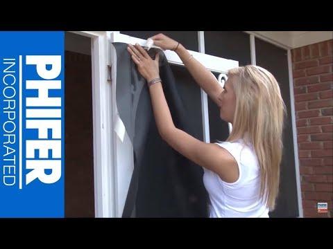 How To Replace Screen Door using PetScreen - Phifer Inc.