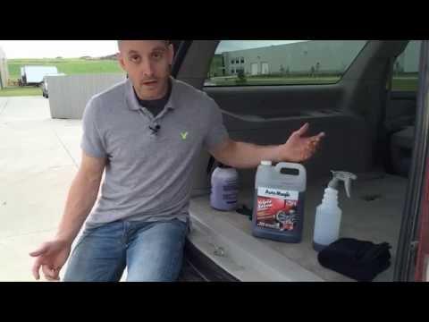 Best All Purpose Cleaner for Car Interior | Auto Magic Triple Seven