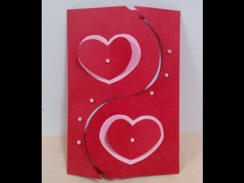 How to Make Handmade Valentine's Card - DIY + Tutorial .