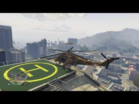 Gta5 helicopter propeller toss