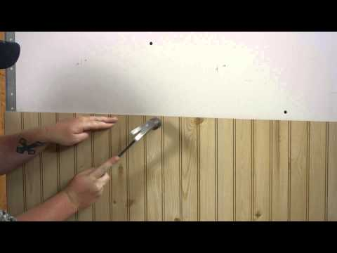 How to Install Wall Paneling : Walls & Paneling