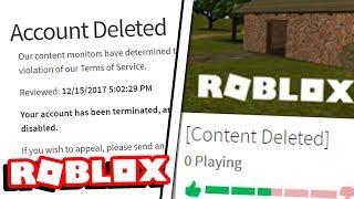 Roblox won't stop banning me...