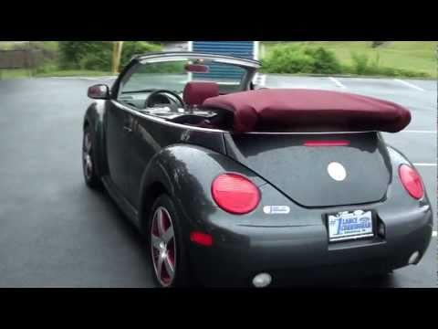FOR SALE 2005 VOLKSWAGEN BEETLE CONVERTIBLE!!!! STK# P5615A