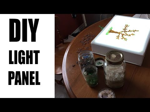 How to build a cheap light table, light box, back light for photography stuff.