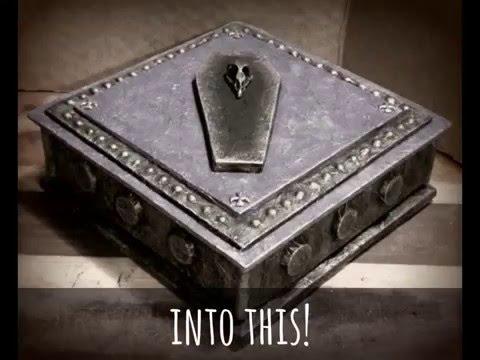 Gothic Tomb Jewelry Box