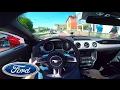 WILD! 2016 Ford Mustang GT (420Hp) Loud drive in Munich✔