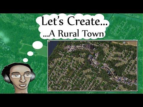 SimCity 4 Tutorials ▶ A Rural Town ◀